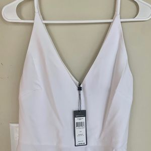 BCBG classy and gorgeous white top!